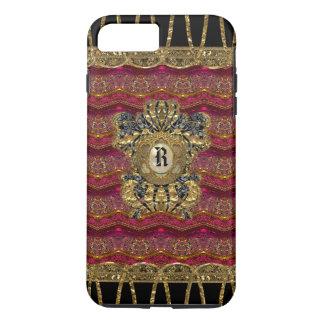 Rose Alley Girly 7 Plus  Monogram iPhone 7 Plus Case