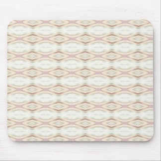 Rose and Cream Pattern Mousepad
