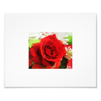 rose and necklace art photo