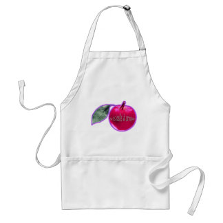 "Rose apple ""Beautiful to crunch "" Standard Apron"