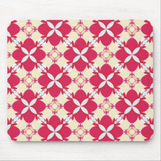 Rose Avunclover Nostalgic Pattern Mouse Pad
