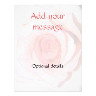 Rose Background Flyer