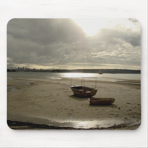 Rose Bay Boats mouse pad