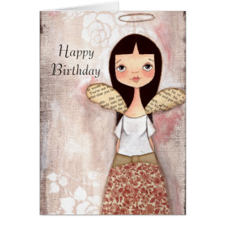 Rose - Birthday Card