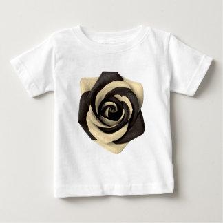 Rose Black Baby T-Shirt
