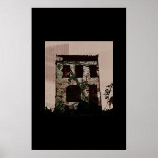Rose Blight House Poster
