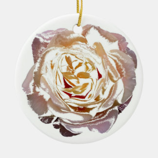 Rose bloom ornaments