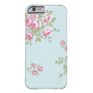 rose blue barely there iPhone 6 case