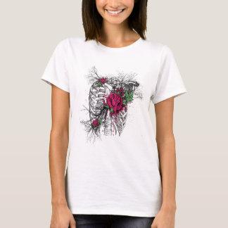 Rose Body Bones Style T-Shirt