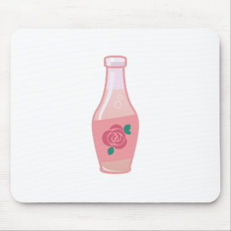 Rose Bottle Mouse Pad