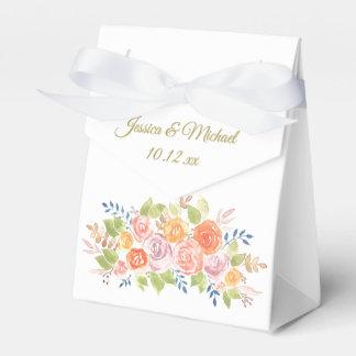 Rose Bouquet Favor Box