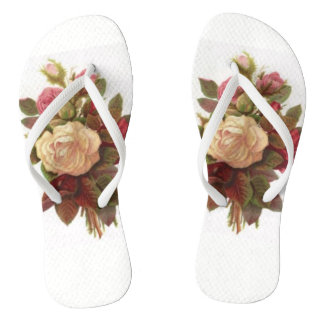 Rose Bouquet Thongs