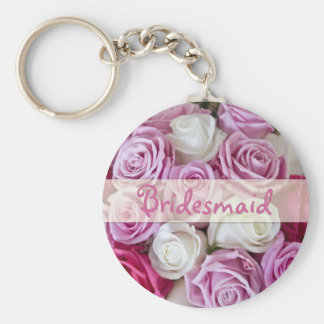 Rose Bridesmaid keychain