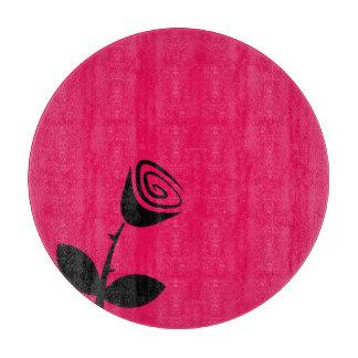 Rose Bud Cutting Board