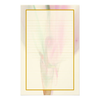 Rose Bud in a Vase I Fine Lined Stationery