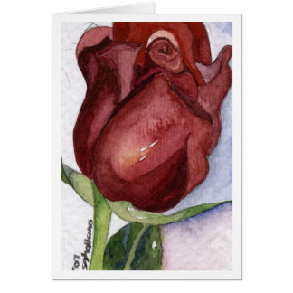 Rose Bud Notecard Cards