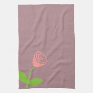 Rose Bud Tea Towel