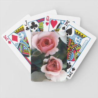 Rose Buds Bicycle Playing Cards