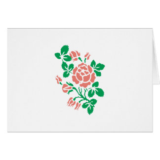 Rose Buds Greeting Card