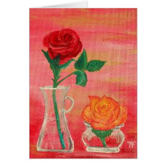 Rose Buds - Greeting Card