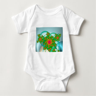 Rose Bush Baby Bodysuit