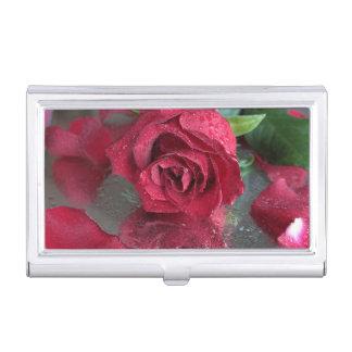 Rose Business Card Holder