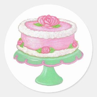 Rose Cake Sticker
