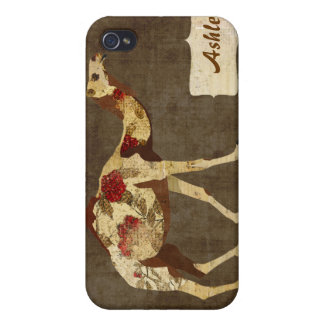 Rose Camel i Covers For iPhone 4