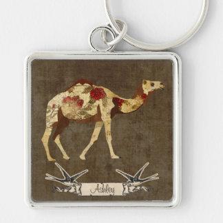 Rose Camel  Keychain