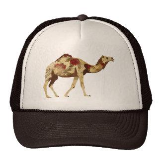 Rose Camel  Lid Mesh Hats