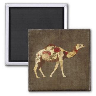 Rose Camel Magnet