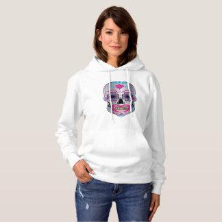Rose Candy Skull Hoodie