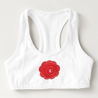 rose chakra sports bra