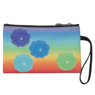 rose chakras mini clutch