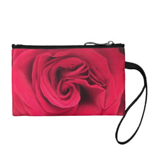 Rose Change Purse / Coin Clutch