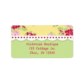 Rose Chic Address Label