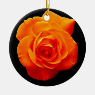 Rose Christmas Tree Ornament