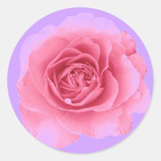 Rose Classic Round Sticker