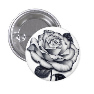 Rose Close-up Button