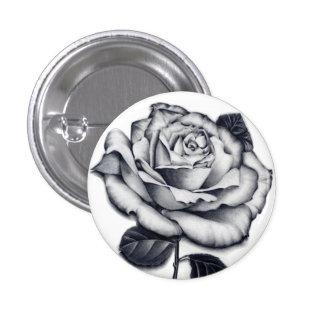Rose Close-up Button