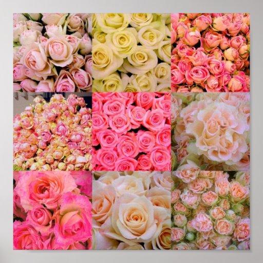 Rose Collage Print