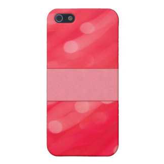 Rose colored Bokeh Lens Effect for iPhone 5! Case For The iPhone 5