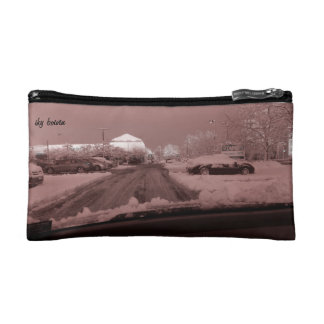 rose colored glasses cosmetic bag