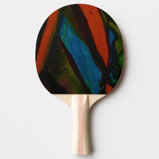 Rose Colored Glasses Ping Pong Paddle