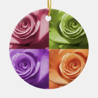 Rose Colors Ornament