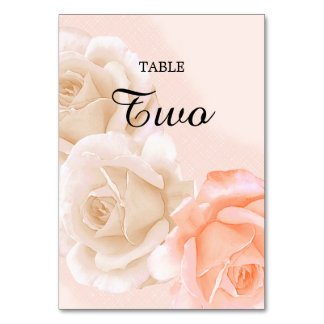 Rose Confection Table Card # 2 (vertical)