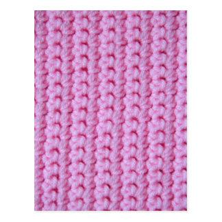 Rose Crochet Postcard