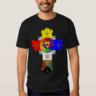 Rose Cross Lamen T-shirts