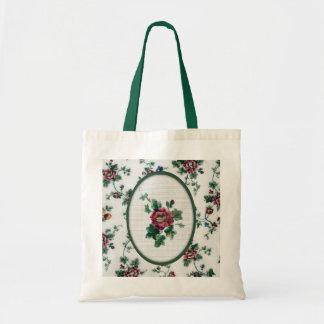 Rose Cross Stitch Bag