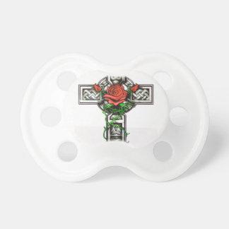 Rose cross tattoo design dummy